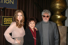 Amy Adams, Cecil B. DeMille, Pedro Almodovar Stock Photos