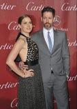 Amy Adams & Darren Le Gallo Royalty Free Stock Images