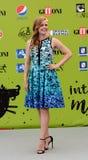 Amy Adams at Giffoni Film Festival 2017. Giffoni Valle Piana, Sa, Italy - July 18, 2017 : Amy Adams at Giffoni Film Festival 2017 - on July 18, 2017 in Giffoni Royalty Free Stock Photography
