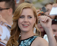 Amy Adams at Giffoni Film Festival 2017. Giffoni Valle Piana, Sa, Italy - July 18, 2017 : Amy Adams at Giffoni Film Festival 2017 - on July 18, 2017 in Giffoni Royalty Free Stock Images