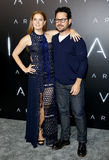 Amy Adams and J.J. Abrams Stock Photography