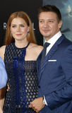 Amy Adams and Jeremy Renner Stock Photography