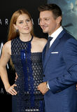Amy Adams and Jeremy Renner Stock Image