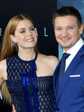Amy Adams and Jeremy Renner Royalty Free Stock Images