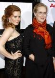 Amy Adams and Meryl Streep Royalty Free Stock Photo