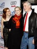 Amy Adams, Meryl Streep and John Patrick Shanley Royalty Free Stock Images