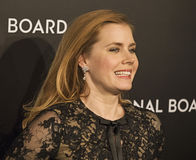 Amy Adams Scores aux récompenses de film de NBR Photos libres de droits