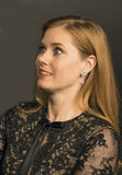 Amy Adams Scores at NBR Film Awards. Stunning, eyepopping Oscar winning actress Amy Adams arrives for the National Board of Review Gala at Cipriani 42nd Royalty Free Stock Images