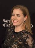 Amy Adams Scores at NBR Film Awards. Stunning, eyepopping Oscar winning actress Amy Adams arrives for the National Board of Review Gala at Cipriani 42nd Royalty Free Stock Photos