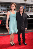 Amy Brenneman, Brad Silberling Images stock