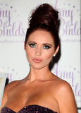 Amy Childs. Launches her perfume '' at Aura, London. 15/08/2012 Picture by: Alexandra Glen / Featureflash Stock Photography
