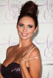 Amy Childs. Launches her perfume '' at Aura, London. 15/08/2012 Picture by: Alexandra Glen / Featureflash Royalty Free Stock Photo