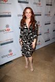 Amy Davidson at the Step Up Women Network 9th Annual Inspiration Awards, Beverly Hilton Hotel, Beverly Hills, CA 06-08-12 Royalty Free Stock Photos