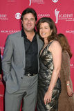 Amy Grant, Vince Gill Royalty Free Stock Photography
