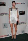 Amy Huberman an den US-Irland Ehren Bündnis-Oscar-Wilde, falscher Roboter, Santa Monica, CA 02-23-12 Lizenzfreies Stockbild