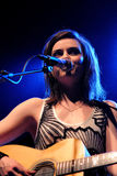 Amy MacDonald (band) perfoms at Razzmatazz stage Royalty Free Stock Photo