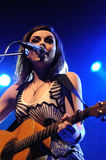 Amy MacDonald performs at Barcelona Royalty Free Stock Photography