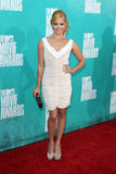 Amy Paffrath arriving at the 2012 MTV Movie Awards Stock Photos