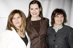Amy Pascal, Geena Davis Photo libre de droits