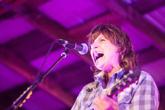 Amy Ray of Indigo Girls Concert Stock Photography