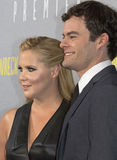 Amy Schumer and Bill Hader Stock Photo