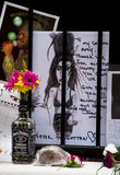 amy till tributewinehouse Fotografering för Bildbyråer