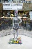 Amy Winehouse-Statue Lizenzfreies Stockfoto