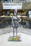Amy Winehouse statue Royalty Free Stock Photo
