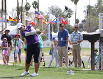 Amy Yang at the ANA inspiration golf tournament 2015 Stock Image