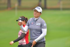 Amy Yang in Honda LPGA Thailand 2018. Amy Yang of Republic of Korea in Honda LPGA Thailand 2018 at Siam Country Club, Old Course on February 24, 2018 in Pattaya Stock Photography