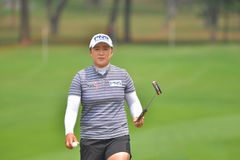 Amy Yang in Honda LPGA Thailand 2018. Amy Yang of Republic of Korea in Honda LPGA Thailand 2018 at Siam Country Club, Old Course on February 24, 2018 in Pattaya Stock Photo