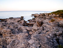 Çamyuva, Kemer - coast and beaches of Turkey Stock Photo