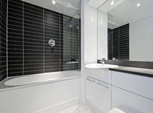 Amzing modern bathroom Stock Photography