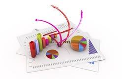 análise Fotografia de Stock Royalty Free