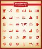 Análise das cartas e de negócio, gráfico da finança, para Infographics Foto de Stock