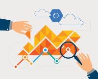 Análise de dados Foto de Stock
