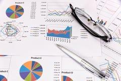 Análise de desempenho empresarial Fotos de Stock Royalty Free