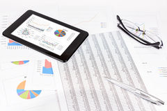 Análise de desempenho empresarial Imagem de Stock