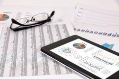 Análise de desempenho empresarial Foto de Stock