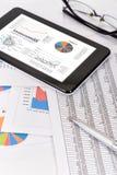 Análise de desempenho empresarial Fotografia de Stock