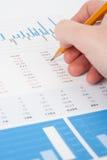 Análise de negócio imagens de stock royalty free