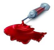 Análise de sangue Imagens de Stock