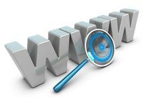 Análise do Internet, conceito da analítica da Web Fotos de Stock Royalty Free