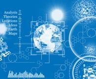 Análise do mundo Imagens de Stock