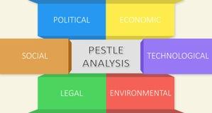 Análise do PILÃO Uma representação grafical Fotografia de Stock Royalty Free