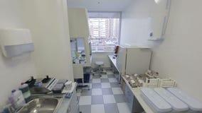 Análise do sangue do laboratório médico filme