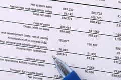 Análise financeira Fotos de Stock