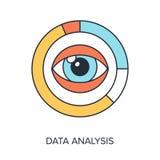 Análisis de datos Fotografía de archivo libre de regalías