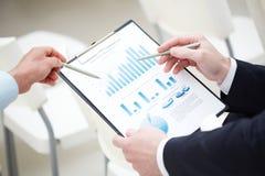 Análisis de negocio Imagen de archivo