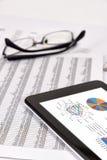 Análisis de rendimiento empresarial Imágenes de archivo libres de regalías